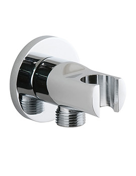 Vado Elements Wall Mounted Integrated Outlet And Shower Bracket