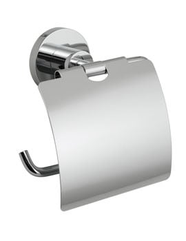 Vado Elements Wall Mounted Covered Paper Holder Chrome