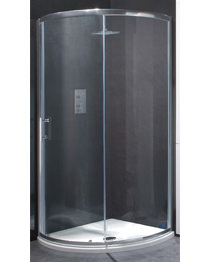 Beo Framed 900mm Single Door Quadrant Shower Enclosure