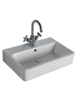 Roper Rhodes Hampton Rectangular Countertop Basin