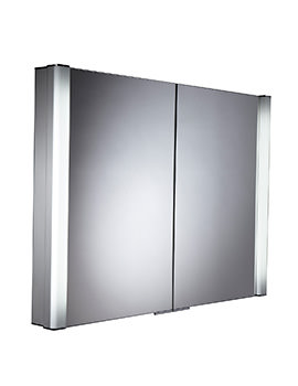Roper Rhodes Perception Recessed 1000mm Illuminated Cabinet