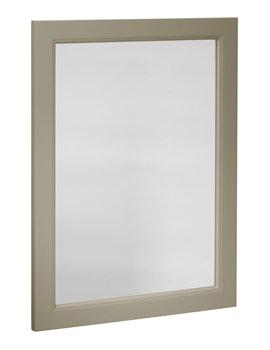 Roper Rhodes Hampton 570 x 800mm Mocha Finish Framed Mirror
