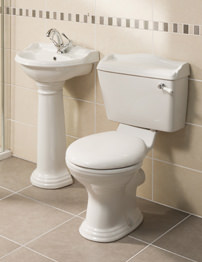 Beo Regent Traditional Cloakroom Suite