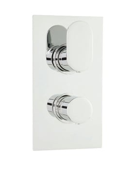Beo Tranquil Twin Thermostatic Shower Valve With Diverter