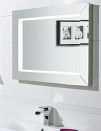 Roper Rhodes Sense 800mm Fluorescent Illuminated Mirror