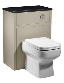 Roper Rhodes Hampton 600mm Mocha Back-To-Wall WC Furniture Unit