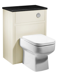Roper Rhodes Hampton 600mm Vanilla Back-To-Wall WC Furniture Unit