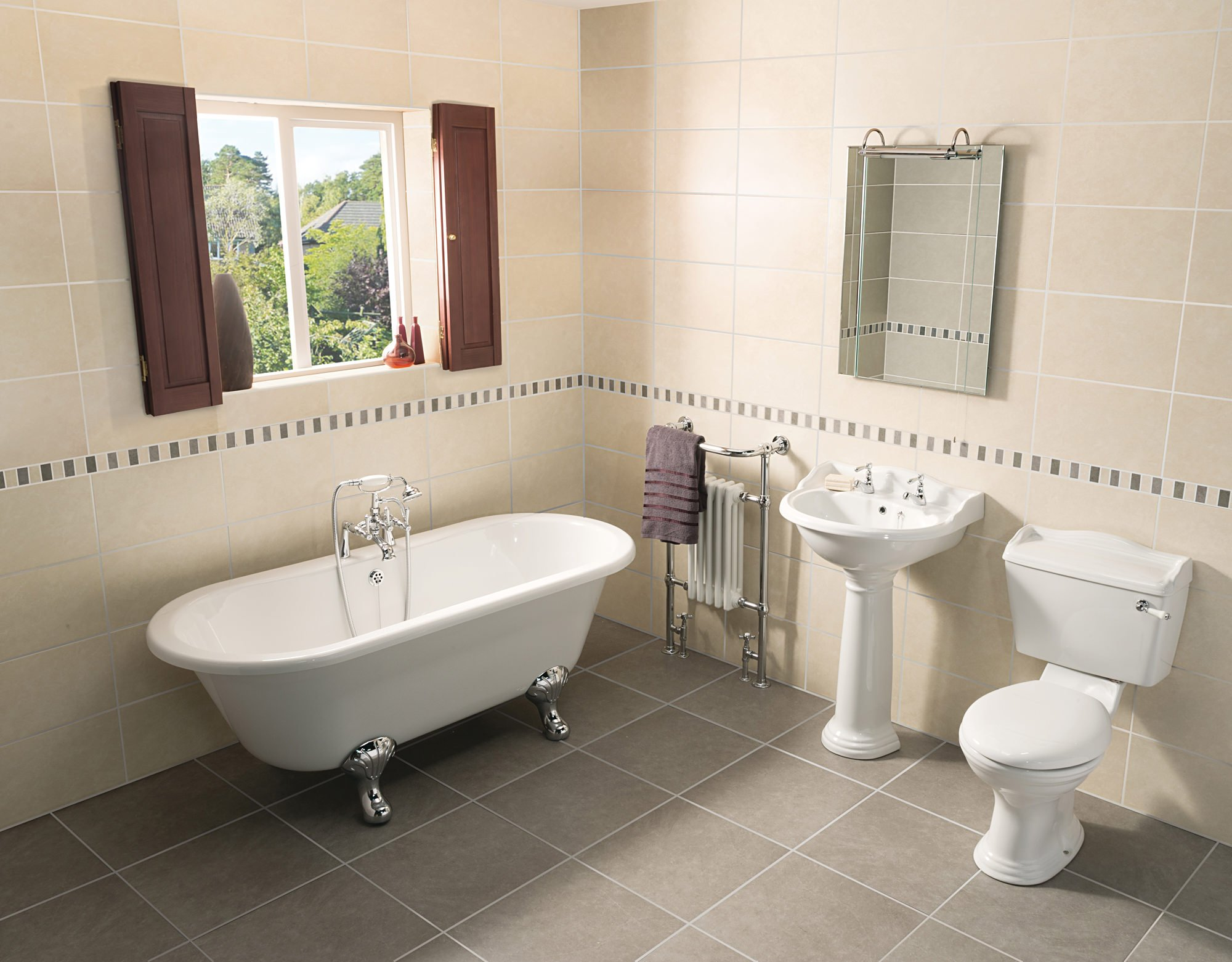 Beo Regent Traditional Bathroom Suite