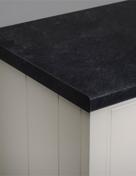 Roper Rhodes Laminate 3000mm Riven Slate Worktop