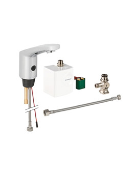 Geberit Type 185 Automatic Sensor Tap And Generator With Below Desk Mixer