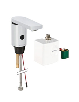 Geberit Type 186 Automatic Sensor Tap And Generator Without Mixer