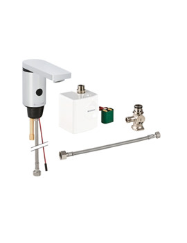 Geberit Type 186 Automatic Sensor Tap And Generator With Below Desk Mixer
