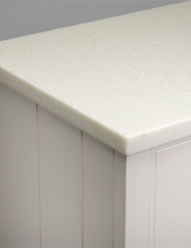 Roper Rhodes Strata 1820mm Glacier White Solid Surface Worktop