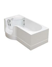 Balterley Porta Easy Access Walk-In Showerbath Left Hand