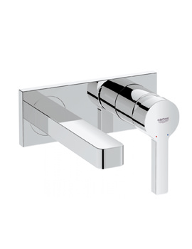 Grohe Lineare Wall Mounted Two Hole Basin Mixer Tap