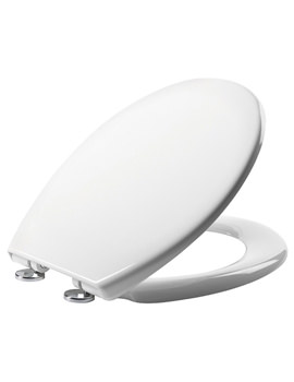 Tavistock Alpine Gloss White Soft Close Thermoset Toilet Seat