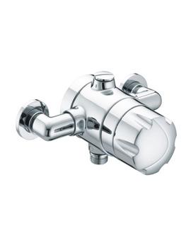 Bristan Gummers Opac Exposed Shower Valve With Handwheel