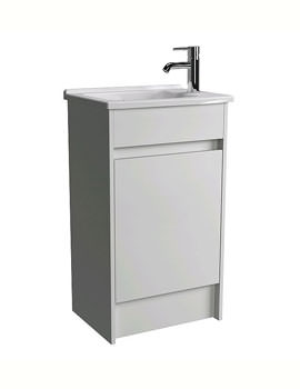 VitrA S50 Compact Floor Standing Vanity Unit With Basin