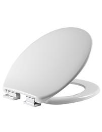Tavistock Eclipse Soft Close Slim Profile White Thermoset Toilet Seat