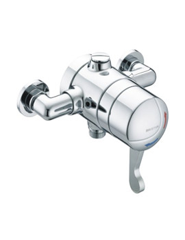 Bristan Gummers Opac Exposed Shower Valve With Lever