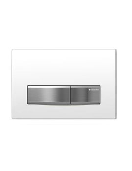 Geberit Sigma50 White Dual Flush Plate