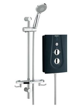 Bristan Glee 10.5 kW Black Electric Shower