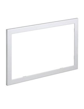 Geberit Sigma60 Brushed Chrome Cover Frame