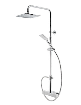 Roper Rhodes Chrome Factor Exposed Dual Function Shower Set