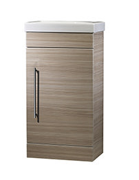 Roper Rhodes Esta 450mm Pale Driftwood Cloakroom Unit And 460mm Basin