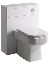 Roper Rhodes Breathe-Profile 600mm White Back-To-Wall WC Unit