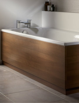 Roper Rhodes Signatures 1700mm Plain Walnut Front Bath Panel