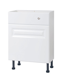 Balterley 500mm Compact Cistern Base Cabinet White Classic