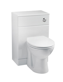Balterley 500 x 300mm Gloss White WC Unit Including Cistern