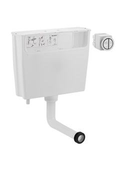 Geberit Concealed Dual Flush Cistern For Low Height Furniture