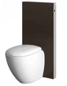 Geberit Umbra Monolith Sanitary Module With P Bend For Floor Standing WC