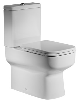 Roper Rhodes Geo Close Coupled WC With Cistern And Seat 645mm
