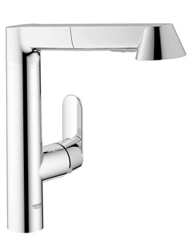 Grohe K7 Sink Mixer Tap With Pull Out Spray