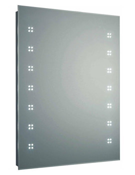 Hudson Reed Lucid LED Mirror With Shaving Socket And Demister Pad