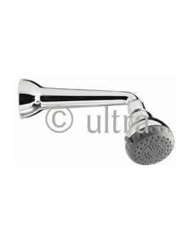 Ultra Modern 3 Function Fixed Shower Head And Arm