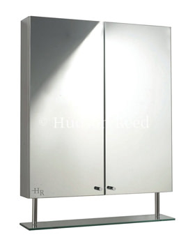 Hudson Reed Dakota Double Mirror Cabinet With Shelf