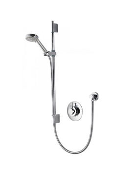 Aqualisa Dream Concealed Thermostatic Shower With 105mm Adjustable Head