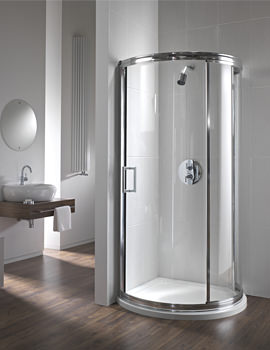 Twyford Hydr8 780mm Bow Quadrant Shower Enclosure