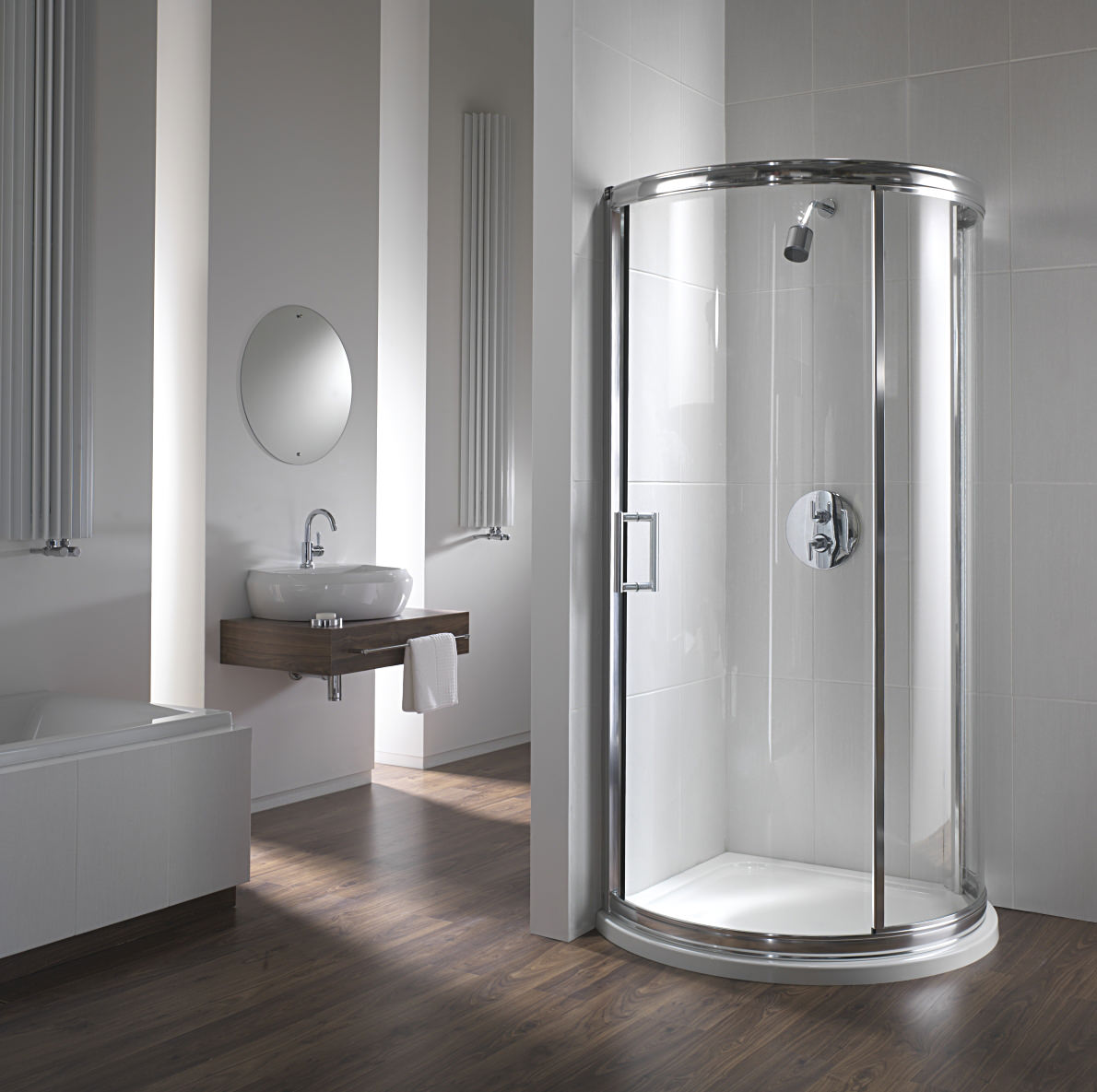Twyford Hydr8 780mm Bow Quadrant Shower Enclosure