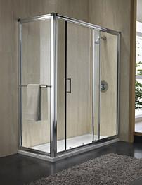 Twyford Hydr8 Sliding Shower Door 1100mm