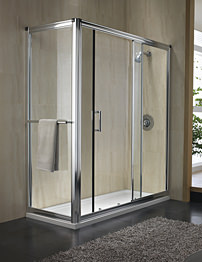 Twyford Hydr8 Sliding Shower Door 1700mm
