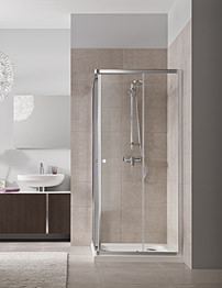 Twyford T4 Corner Entry Shower Enclosure 900 x 900mm