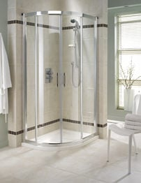 Twyford Geo6 Quadrant Shower Enclosure 900 x 900mm