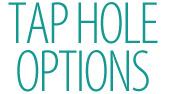 Basin Tap Hole Option