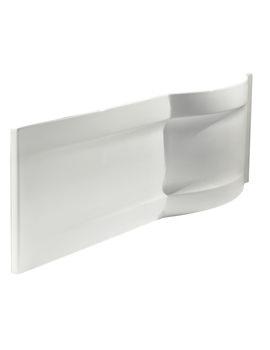 Twyford Galerie Optimise Offset White Front Bath Panel 1700mm