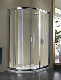 Twyford Hydr8 Offset Quadrant Shower Enclosure 1200 x 800mm